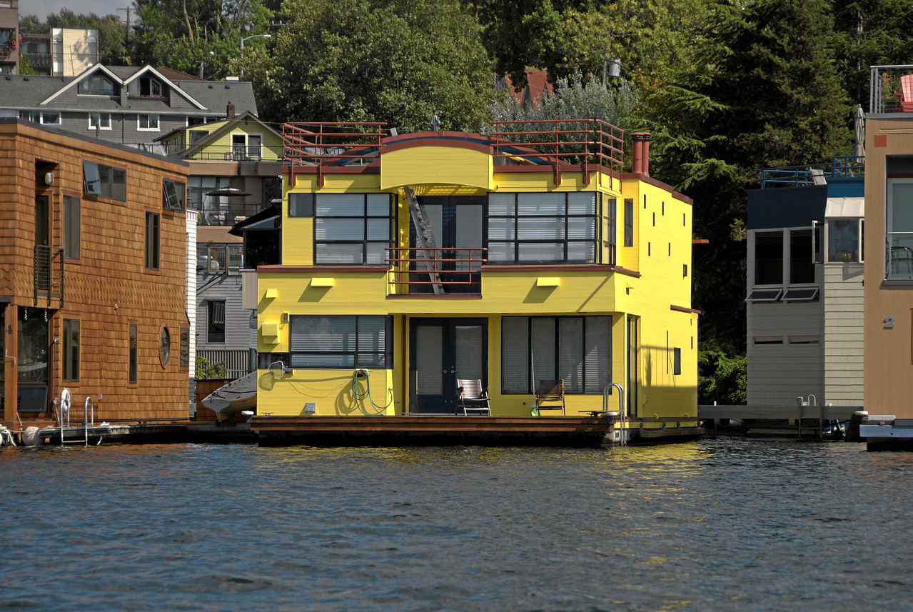 Houseboats on Lake Union