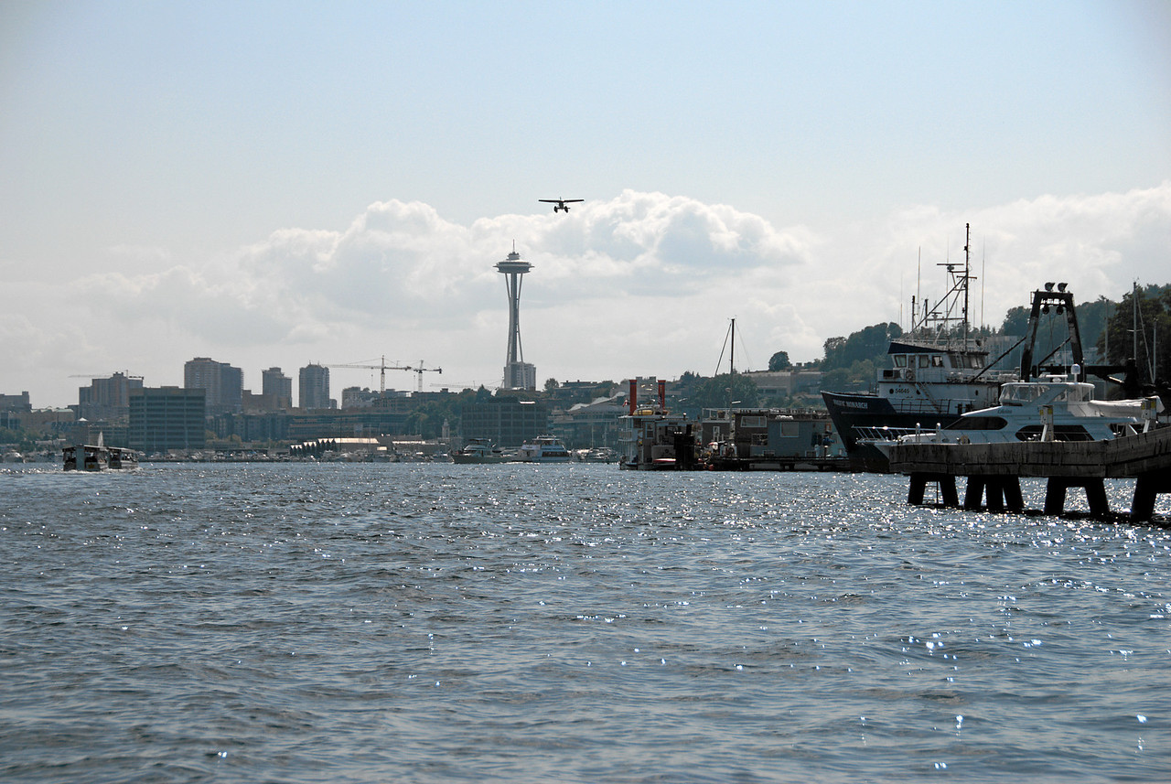 Space Needle from Lake Union