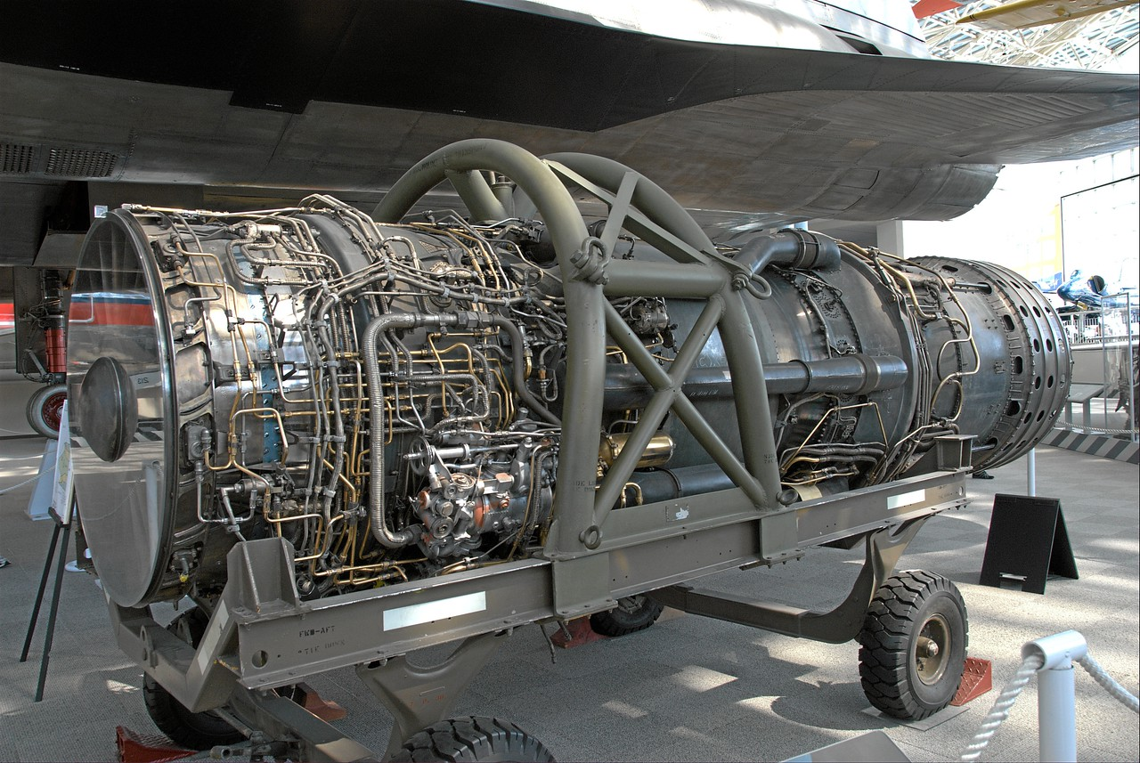 SR-71 Blackbird Engine