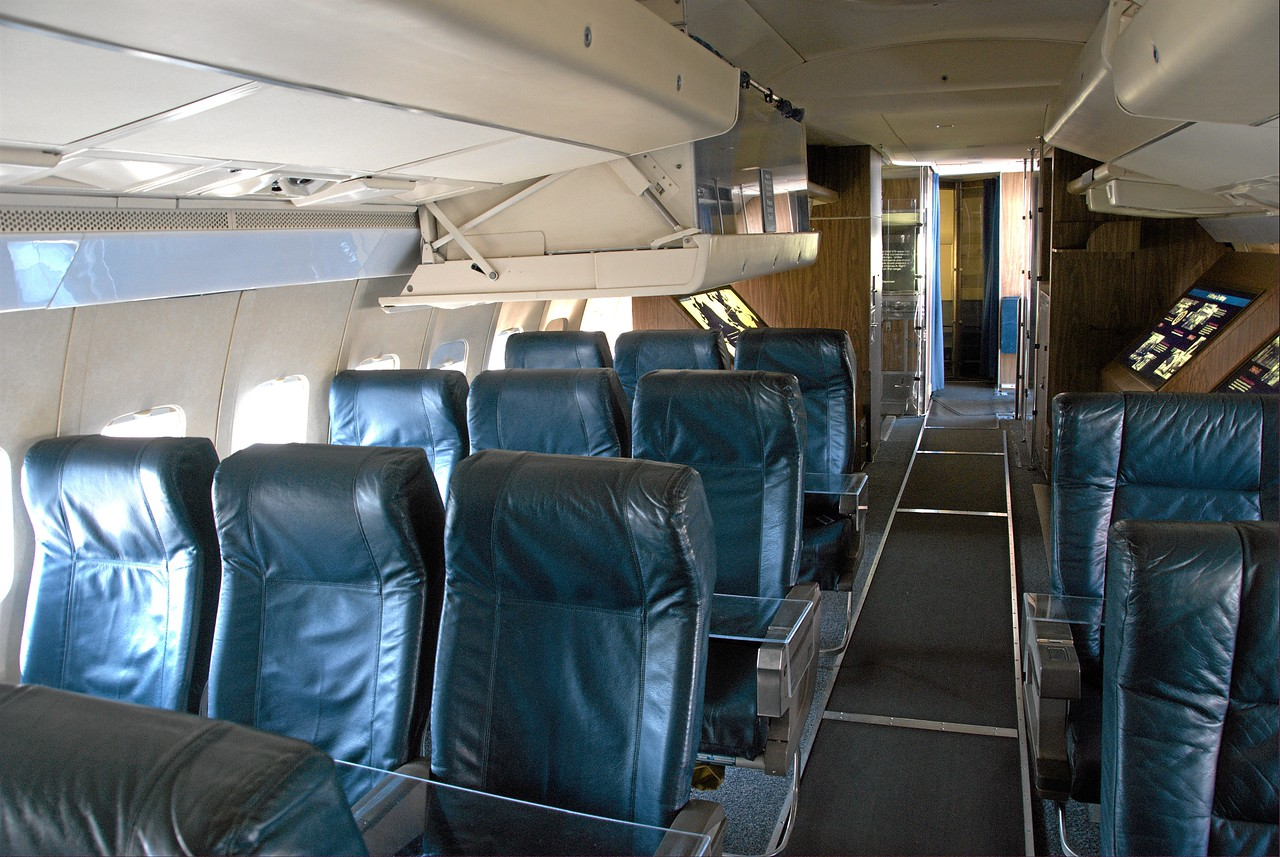 Air Force One, main seating area