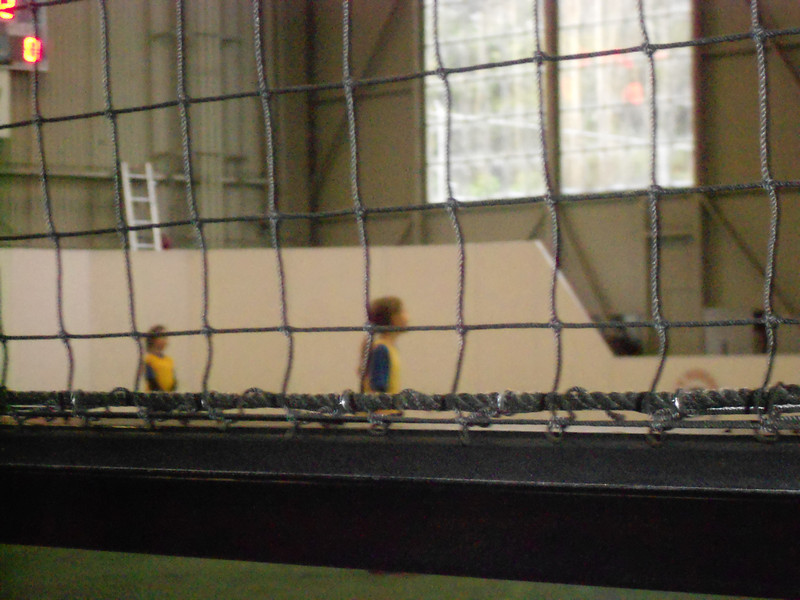 Beija with her indoor soccer team