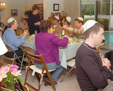 Seder at Dorothy's 2008