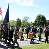 Memorial Day observance at Village Cemetery in Shirley. (SUN/Julia Malakie)