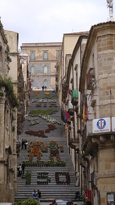 Caltagirone de trap van Santa Maria del Monte