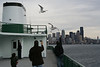 Taking the ferry from Seattle to Bremerton