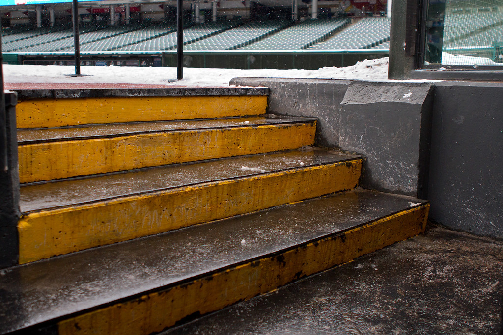 Remember those great Indian teams of the 90's?  Well, many great players have walked up those stairs to the on deck circle.