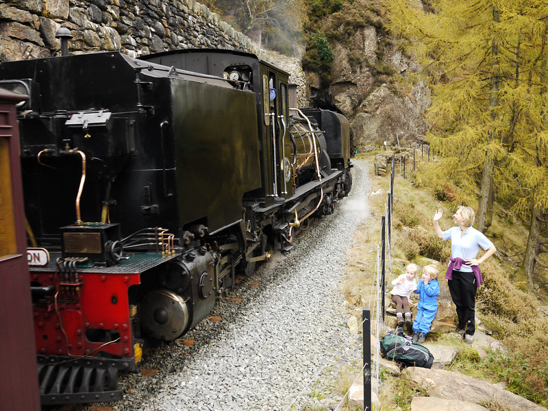 Welsh Highland Railway, Pass of Aberglaslyn