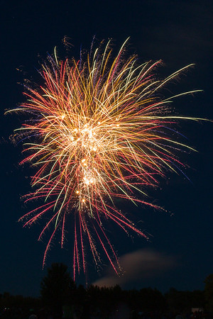 Solon Fireworks July 4, 2014