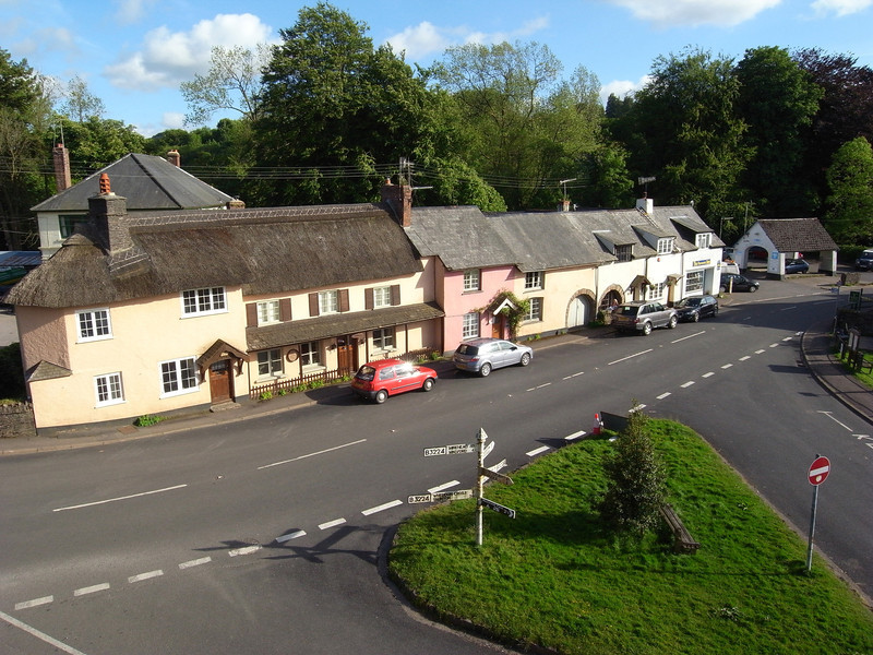 Exford - view from the Crown Inn