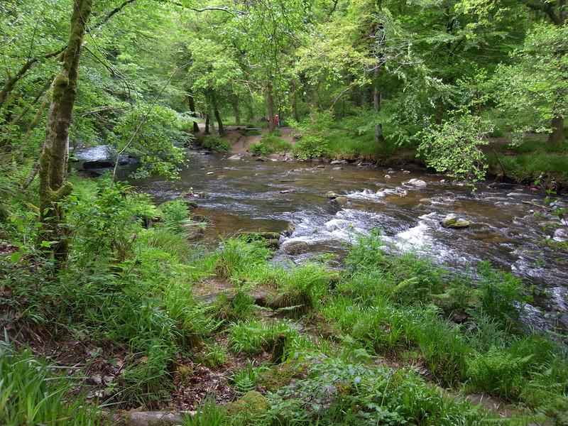 River near Tarr Steps