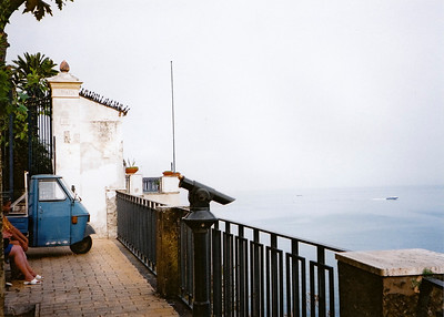 The Piaggio Ape is a common sight everywhere in Italy.