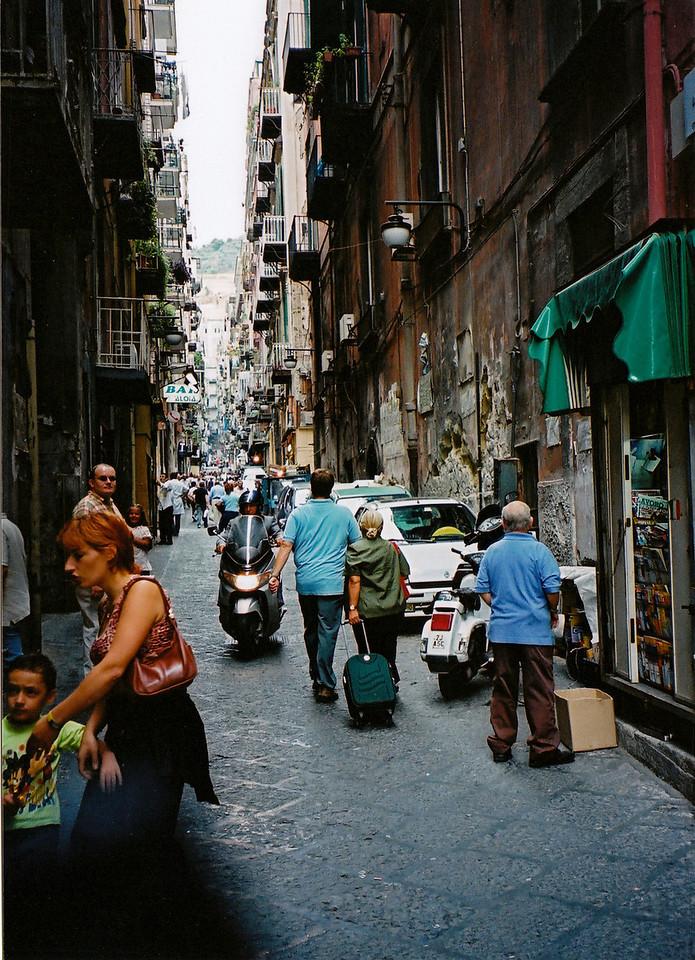 A Naples backstreet