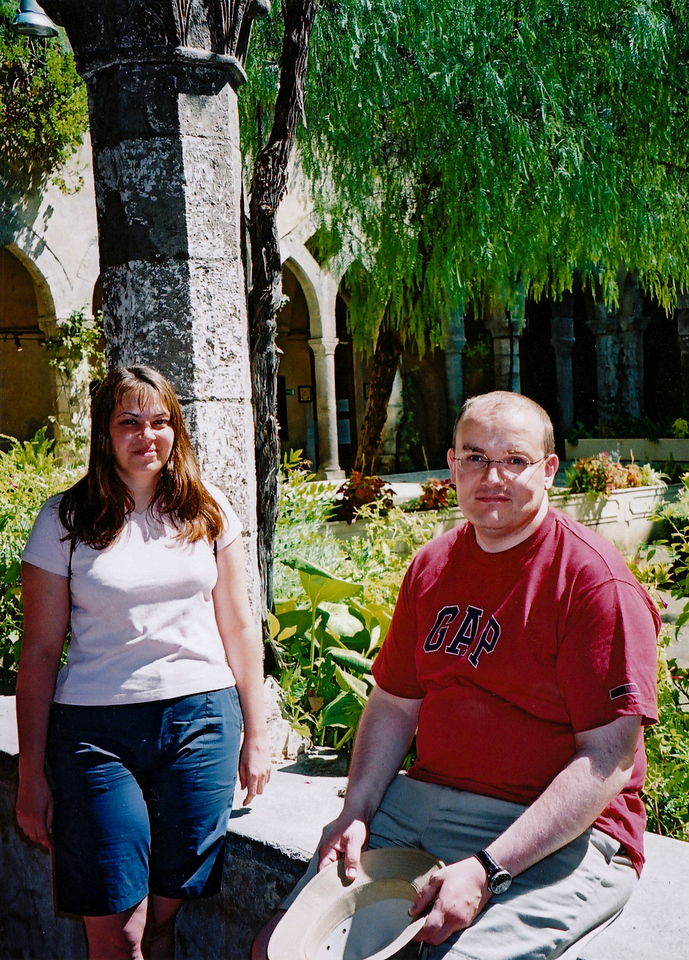 Alex and Joanne in Sorrento