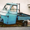Piaggio Ape. This one seemed very unloved. I wanted to take it home with me...