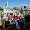 Ahhhh, Cape Town. A definite change from Luanda. First up, Portuguese style 'stressed' chicken.
