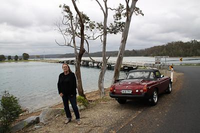Wallaga Lake Bridge, Beauty Point NSW near Bermagui
