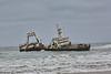 Skeleton Coast - Wreck of Fishing Ship 09