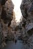 Sesriem Canyon Walk - Brenda and Kevin Walking Canyon Bottom
