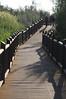 Augrabies Falls - Walking Down Walkway