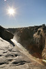 Augrabies Falls - Sun and View Down the Chasm