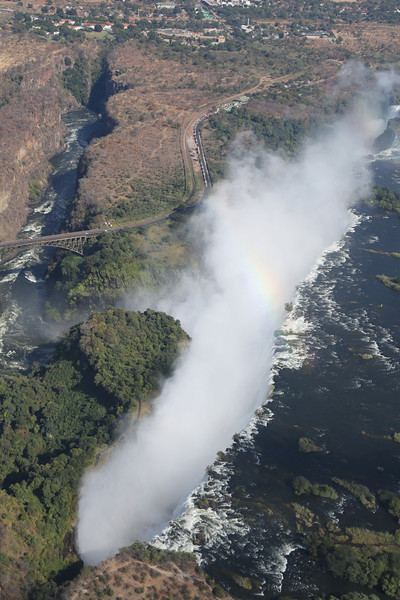 Victoria Falls - Helicopter Tour - The Falls 25