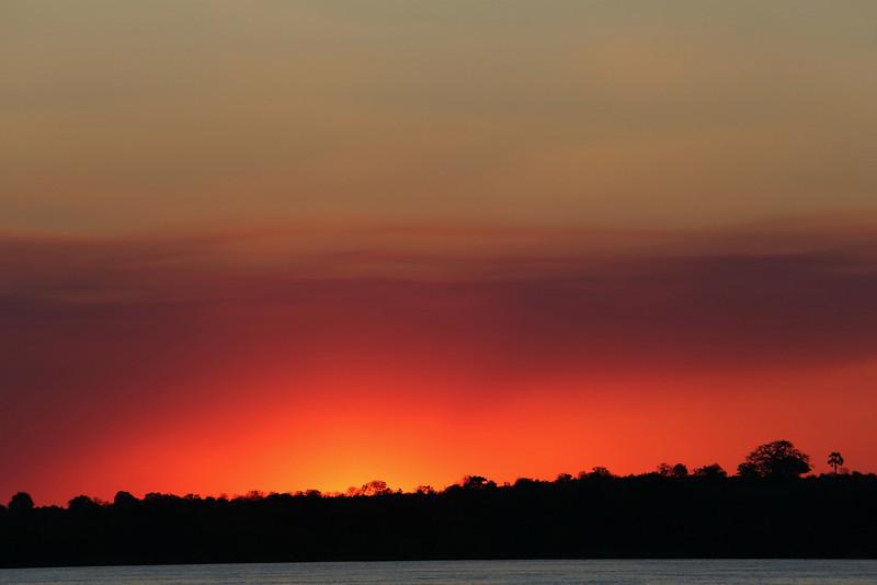 Victoria Falls - Zambezi River Sunset Cruise - Sunset (2)