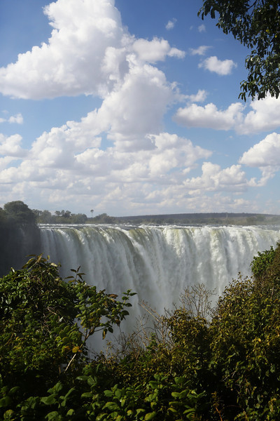 Victoria Falls - View From Rainforest Park - Falls (1)