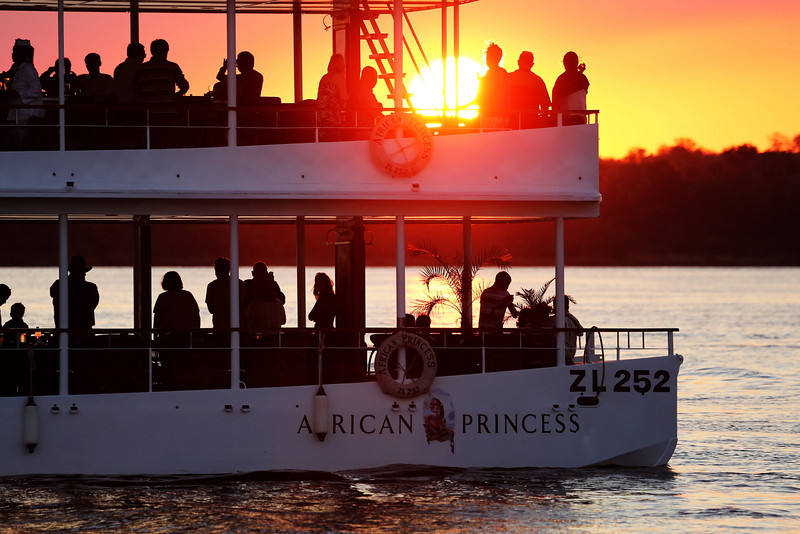 Victoria Falls - Zambezi River Sunset Cruise - Cruise Boat at Sunset 172