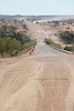 Damaraland - Drive Through Area - Vehicle on Dusty Road