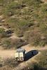 Damaraland - Vingerklip - View Down to Our Truck