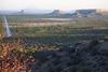 Damaraland - Ugab Terrace Lodge - Sunset View Towards Vingerklip