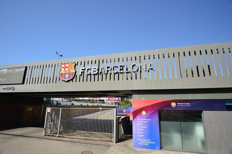 Main Gate FC Barcelona