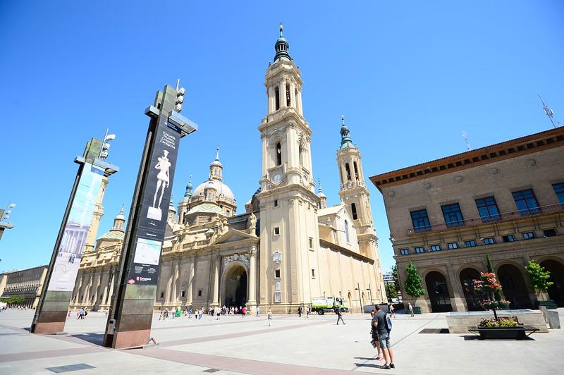 Basilica  Pillar, , Zaragoza ,Cathedral of the Savior of Zaragoza