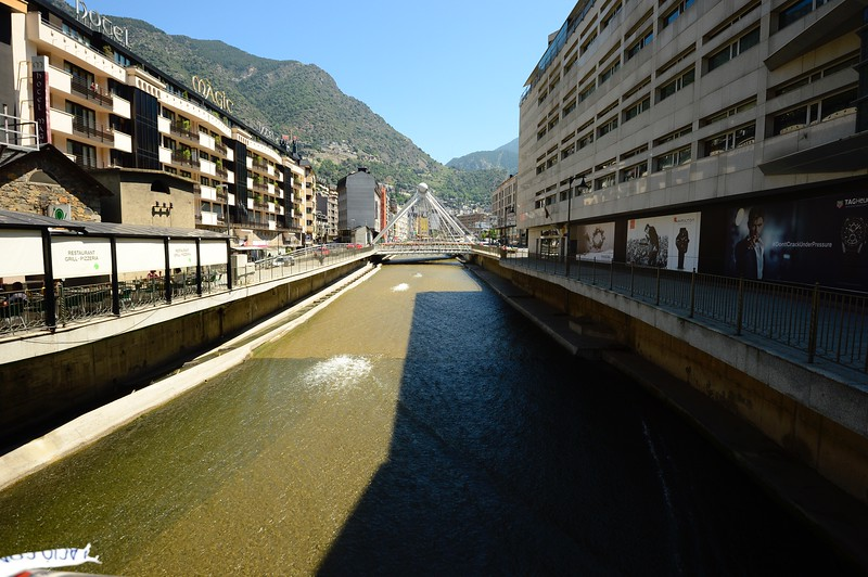 River in Andorra