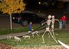Walking the Dogs on Halloween Night