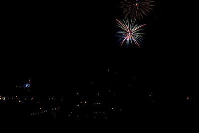 St Helena Ca and Calistoga Ca Fireworks 2012