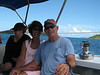 Beverly, Susan, and David on Pillsbury Sound