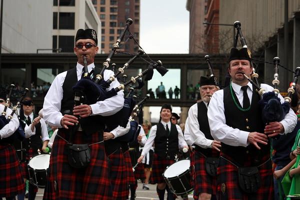 2012 St. Patricks Day Parade, St. Paul, MN.