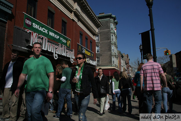 St. Patrick's Day in Hoboken