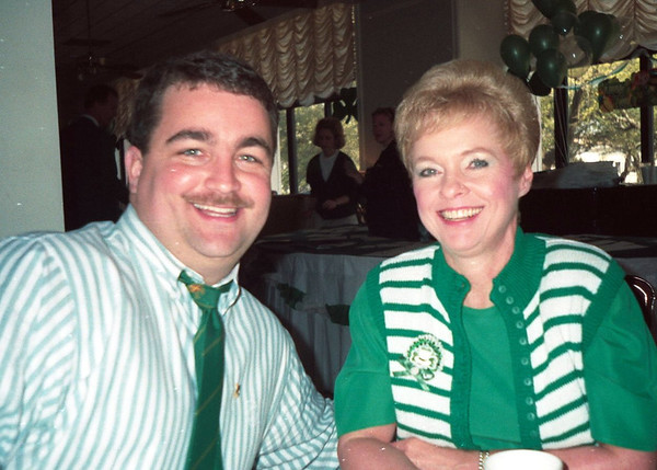 My St Patrick's Day in Savannah Past