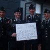 Some of the world Famous Benedictine Cadets Roar for Team Emily!