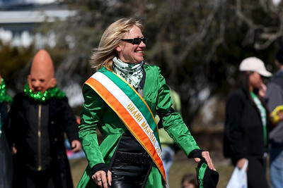 The 2014 St. Patrick's Day Parade in Westhampton Beach, NY.  The Grand Marshal.