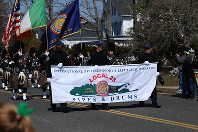 The 2014 St. Patrick's Day Parade in Westhampton Beach, NY.