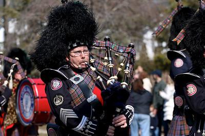 The 2014 St. Patrick's Day Parade in Westhampton Beach, NY.
