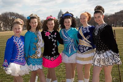 St. Patrick's Parade, O'Neill-James School  of Irish Dance