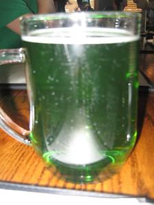 Ahhh green beer