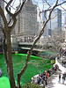 Happy St Patty!  The Chicago River is REALLY green now!