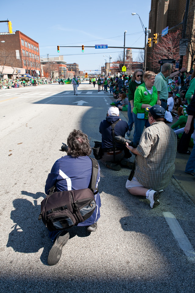 St Patrick's Day Parade, Cleveland Ohio 2012