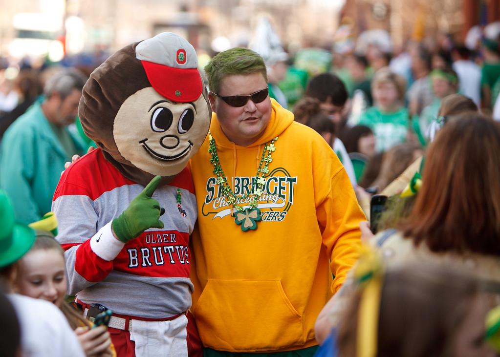 St Patrick's Day Parade, Cleveland Ohio 2012