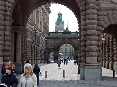 Entering Gamla Stan